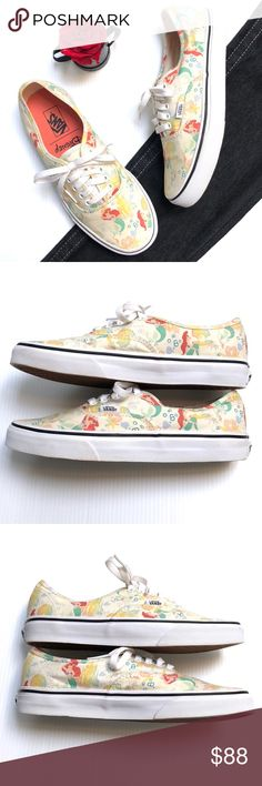 121a8e400d5bfd Vans Disney The Little Mermaid Sneakers These sneakers are absolutely  amazing. Great for someone Disney