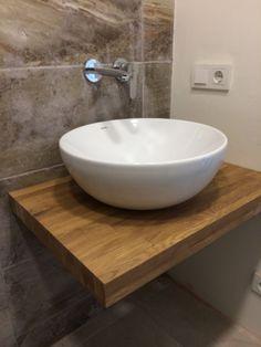Ahşap asma banyo tezgahı  Marca Dekor 0212 2525667