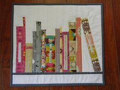"FREE pattern: ""Mini Bookshelf Quilt"" (from Don't Call Me Betsy)"