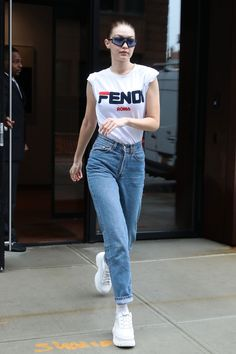 d4a8c5563cf Gigi Hadid s Latest Off-Duty Staple Is Plucked From Princess Anne s Wardrobe