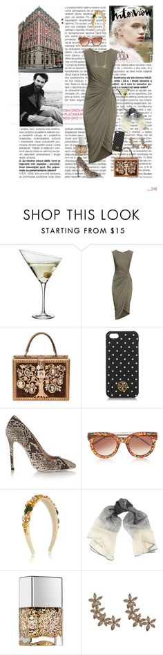 """They'll tell you I'm insane"" by katiemcqueen ❤ liked on Polyvore featuring Eva Solo, H&M, Dolce&Gabbana, Tory Burch, MSGM, Thierry Lasry, Halston Heritage, Nails Inc., Bee Goddess and Jennifer Lopez"