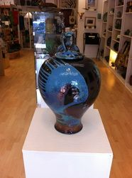 Mark Poole Pottery - Raku