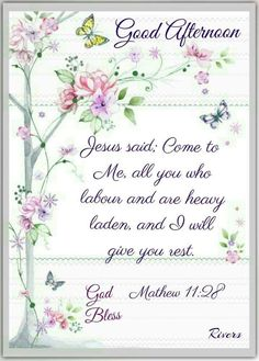 Good afternoon sister,have a lovely time,xxx❤❤❤🍂🍂🍂 Daily Bible Scriptures, Biblical Quotes, Jesus Quotes, Bible Quotes, Bible Verses, Good Afternoon Quotes, Good Day Quotes, Good Morning Quotes, Good Morning