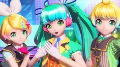 [60fps Full] shake it! シェイクイット! - Hatsune Miku Rin Len 初音ミク 鏡音リン レン DIVA...