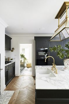 Shaker Style Kitchens, Home Kitchens, Country Interior, Kitchen Interior, Interior Design Magazine, Home Interior Design, Beautiful Kitchens, Sweet Home, New Homes