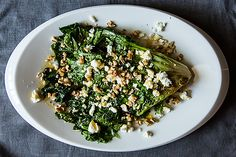 Wilted Escarole with Feta, Walnuts, and Honey | 30 Delicious Things To Cook In September