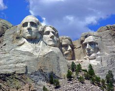 Mount Rushmore was originally known as the Six Grandfathers, or so the Lakota Sioux called the mountain. It was also known as Cougar Mountain, Sugarloaf Mountain, and the Keystone Cliffs. An expeditio