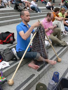 World Wide Knit in Public Day - via Studio Stella