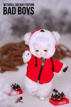 #WITHDOLL #Holiday Edition #BadBoys #PolarBear #16cm #BWD #Animal #Ace  #CreamWhite skin