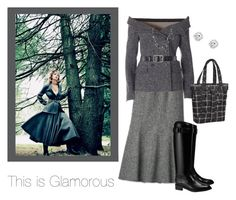 """""""This is Glamorous 🎃"""" by jbeb ❤ liked on Polyvore featuring Faith Connexion, Chanel, Belstaff, Tory Burch and OGIO"""