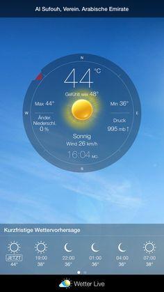 awesome Weather News | Daten zur Verfügung gestellt von Wetter Live-App: #weatherlive ...