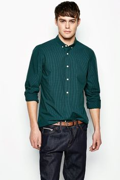 The Goswick Micro Collar Shirt from Jack Wills