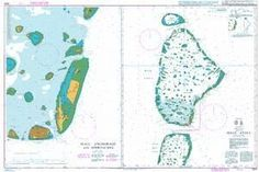 British Admiralty Nautical Chart 3323: Indian Ocean, Maldives, Male´ Atoll. Male´ Anchorage and Approaches
