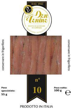 Acciuga italiana in olio extravergine di oliva peranzana. Materie prime di altissima qualità. Solo da #portosantospirito