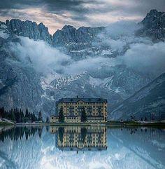 Lake Misurina, Italy,,