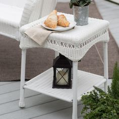 Coral Coast Casco Bay Resin Wicker Side Table - make your ultimate outdoor living space with the practical yet stylish Coral Coast Casco Bay Resin Wicker Side Table. Attractive, easy to clean, and v...