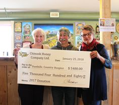 efe504be7 Wow! 2017 was a banner year for our Foothills Country Hospice fundraising.  With the generosity of our amazing customers as well as O Canada Soapworks  our ...