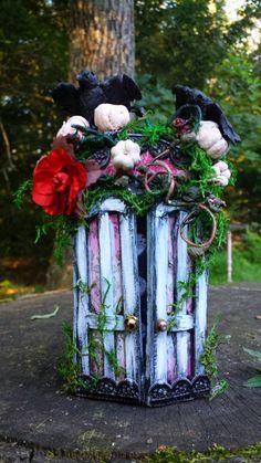 https://www.etsy.com/shop/maryfontones  #OnceUponAFairy #Fairy #FairyHouses #PoconoMountains #Magical