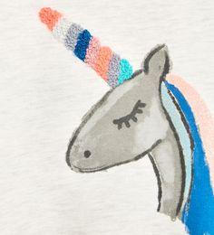Image 4 of EMBELLISHED SWEATSHIRT from Zara Unicorn Graphic, Real Unicorn, Zara Kids, Unicorn Party, Kids Outfits, Kids Fashion, Graphic Tees, Illustration, Pattern