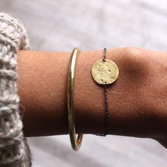 full moon bracelet. by Annika Kaplan