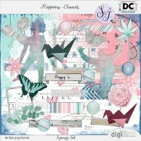 Happiness Elements in store today! at digiscrap.nl