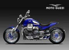 Motosketches: MOTO GUZZI  V14  MACISTE