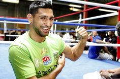 Amir Khan media workout quotes