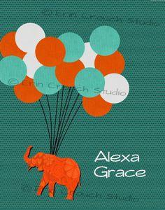 Sign the Balloon Guest Book Alternative Boho by ErinCrouchStudio, $12.00