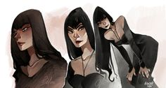 Original character- Claire Blacksford, Alasxe Galei on ArtStation at https://www.artstation.com/artwork/1BqQ3
