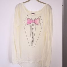 Tuxedo Tee Not wild fox. Junk Food. Questions and offers accepted! Wildfox Tops Tees - Long Sleeve