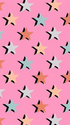Cute Patterns Wallpaper, Aesthetic Pastel Wallpaper, Retro Wallpaper, Aesthetic Wallpapers, Pattern Wallpaper Iphone, Trendy Wallpaper, Future Wallpaper, Star Wallpaper, Aesthetic Backgrounds