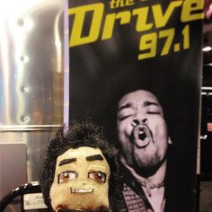 Let go on #thedrive971 with #jimihendrix #cas2016 #lilAL @djasiatic