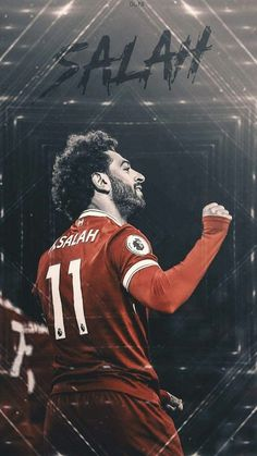 salah is the best football player in Liverpool Anfield, Liverpool Players, Liverpool Football Club, Best Football Players, Football Art, Soccer Players, M Salah, Muhammed Salah, Liverpool Fc Wallpaper