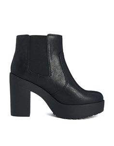 Image 1 of New Look Chunky Chelsea Ankle Boots