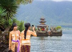 Mythical and magical, a diamond shaped island of spectacular volcanic mountains and lakes, enchanting rice terraces, ancient temples and palaces, surrounded by sparkling coral seas, Bali is alight with cultures and traditions.