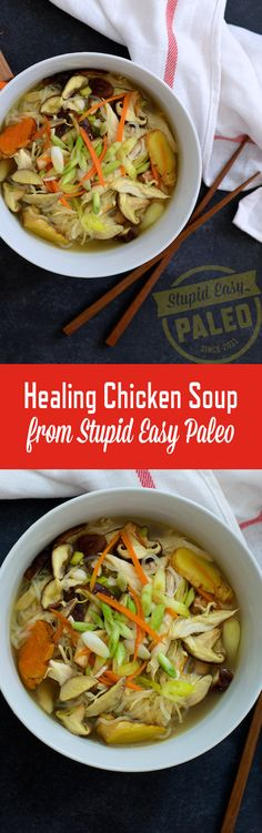 October 2016- Healing Chicken Soup Recipe- Used CSA Shrooms... Easy and Yummy