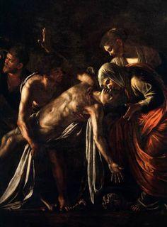 Caravaggio, Detail fromThe Raising of Lazarus(c. 1609)