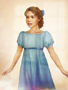 """Wendy (Peter Pan) - Imaginer Personnages Disney dans """"Real Life"""" Projet d'étudiants Finlandais en graphisme."""