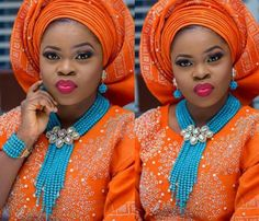 Blue African Jewelry Sets for Brides Whatsapp:008613691301343