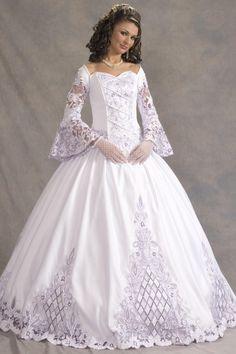 Vestidos de novia con mangas. FOTOS