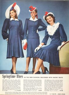 Tuppence Ha'penny: 1940s Fashions in Red, White & Blue