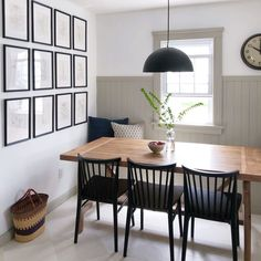 Emily Henderson is a host with HGTV, best selling author and stylist with a strong commitment to vintage inspired approachable home style for everyone. Dining Nook, Dining Room Design, Dining Chairs, Warm Kitchen, Kitchen Nook, New Living Room, Living Spaces, Home Renovation, Old Houses