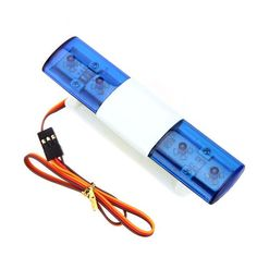 AX-501C Multi-function Bright RC Car LED Lamp for 4WD CH3 Mode 1/10 1/8 RC Climbing Car Rally Car Monster Truck Parts