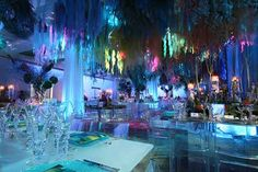 "Nat Geo's ""Ocean Floor"" party -under the sea party decor ideas"