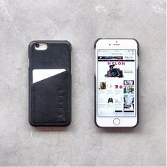 #mujjo wallet case for iPhone 6 by @nylonsg from Singapore - Available at mujjo.com