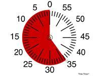 TimeTimer Flipchart