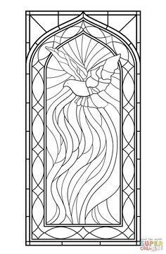 winter birds colouring sheets great for stained glass pics art