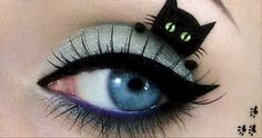 12 Eye Makeup Designs To Keep All Eyes On You This Halloween