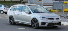 Erwischt: VW Golf 7 R Variant auf Erprobungsfahrt