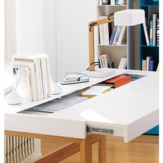 For my OCD -torino desk-table in office furniture | CB2